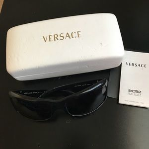 Versace made in Italy sunglasses